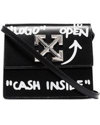 Off-White c/o Virgil Abloh Сумка На Плечо Jitney 0.7 Cash Inside - Черный