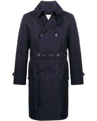 Mackintosh 'Monkton GM-1006FD' Trenchcoat - Blau