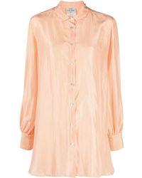 Forte Forte シルクシャツ - オレンジ
