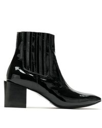UMA | Raquel Davidowicz Paris Leather Boots - Black