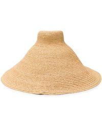 Jacquemus Le Grand Chapeau Valensole Straw Hat - Natural