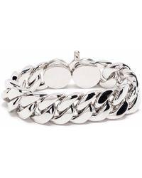 Tom Wood Chunky Chain Bracelet - Metallic