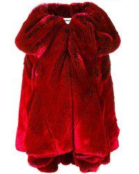 Chalayan Cappotto corto - Rosso
