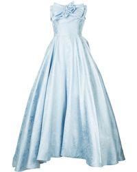 Bambah Georgia Cinderella ドレス - ブルー