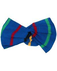 Missoni Striped Headband - Blue