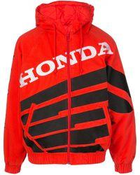 Supreme - X Honda X Fox Racing Puffy Zip Up Jacket - Lyst
