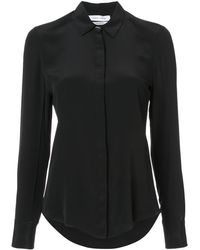 Prabal Gurung Draped back shirt - Noir