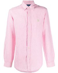Polo Ralph Lauren Camicia a righe - Rosa