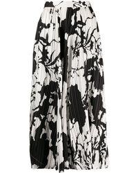 Ferragamo - パターン Aラインスカート - Lyst