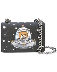 Moschino - Astronaut Bear Crossbody Bag Black - Lyst