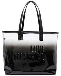 Love Moschino - エンボス ハンドバッグ - Lyst