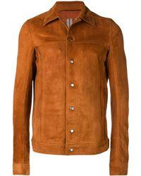 Rick Owens - Worker Jacket - Lyst