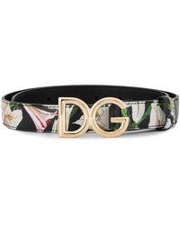 Dolce & Gabbana プリント ベルト - マルチカラー
