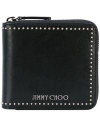 Jimmy Choo Portefeuille Lawrence - Noir