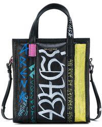 Balenciaga - Bazar Shopper Xs Graffiti Tote - Lyst