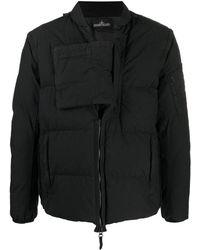 Stone Island Shadow Project Куртка На Молнии - Черный