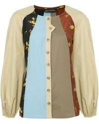 Anna October Patchwork Shirt - Multicolour