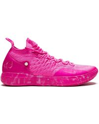Nike Zoom Kd11 Ap Trainers - Pink