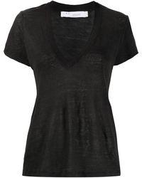 IRO Burnout Tシャツ - ブラック