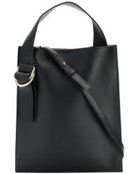 Jil Sander Navy - Top Handle Shoulder Bag - Lyst