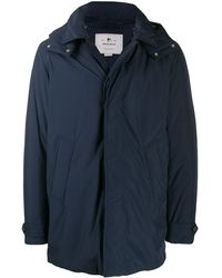 Woolrich - Giubbotto Hooded Mac - Lyst