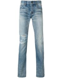 Saint Laurent - Classic Slim-fit Jeans - Lyst