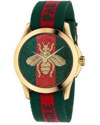 Gucci Часы 'le Marché Des Merveilles' 38мм - Многоцветный