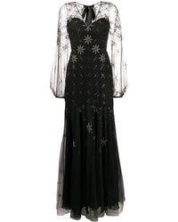 Temperley London タイバック ドレス - ブラック