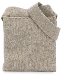Lemaire Knitted Belt Bag - Multicolour