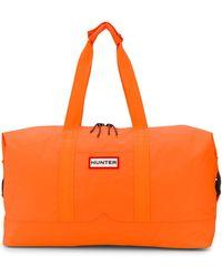 HUNTER Logo Duffle Bag - Orange