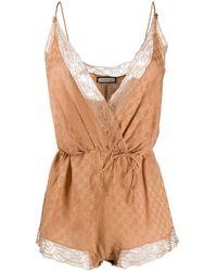Gucci GG Slip Bodysuit - Brown