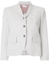 Thom Browne | Striped Short Blazer | Lyst