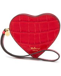 Mulberry Valentines Heart 財布 - レッド