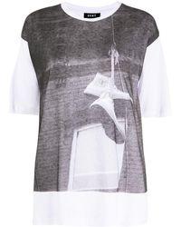 DKNY Shoe Print T-shirt - White