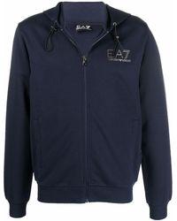 EA7 - Худи С Логотипом - Lyst