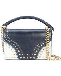 Diane von Furstenberg - Studded Shoulder Bag - Lyst