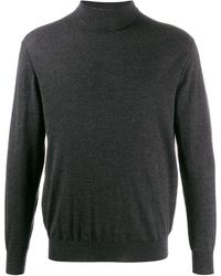 N.Peal Cashmere 007 Fine Gauge Jumper - Grey