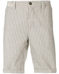 Incotex - Striped Shorts - Lyst