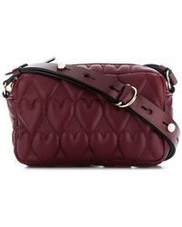 RED Valentino - Red(v) Heart Quilted Crossbody Bag - Lyst