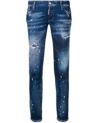 DSquared² - Splash Paint Jeans - Lyst