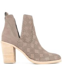 Dolce Vita - Cut Out Ankle Boots - Lyst