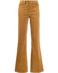 Zadig & Voltaire High Waisted Flared Trousers - Multicolour