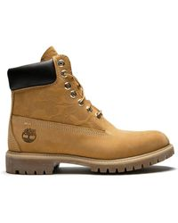 Timberland Ботинки Высотой 6 Дюймов Undefeated X Bape - Желтый