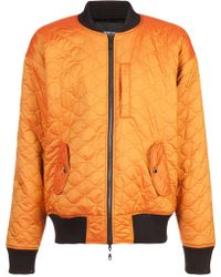 Mostly Heard Rarely Seen - Quilted Bomber Jacket - Lyst