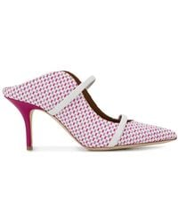 Malone Souliers Maureen Mules - Pink