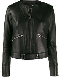 Philipp Plein Байкерская Куртка На Молнии - Черный