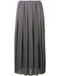 Fabiana Filippi - Midi Pleated Skirt - Lyst