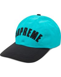 Supreme X The North Face Baseballkappe - Blau