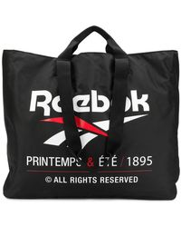 Reebok Logo Tote Bag - Black