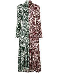 Rosie Assoulin コントラストパネル ドレス - マルチカラー